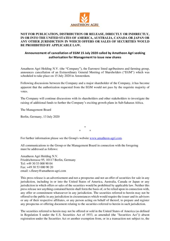 thumbnail of 2020713-Press-Release-Amatheon-cancels-EGM-15-July-2020-to-authorise-Management-to-issue-new-shares