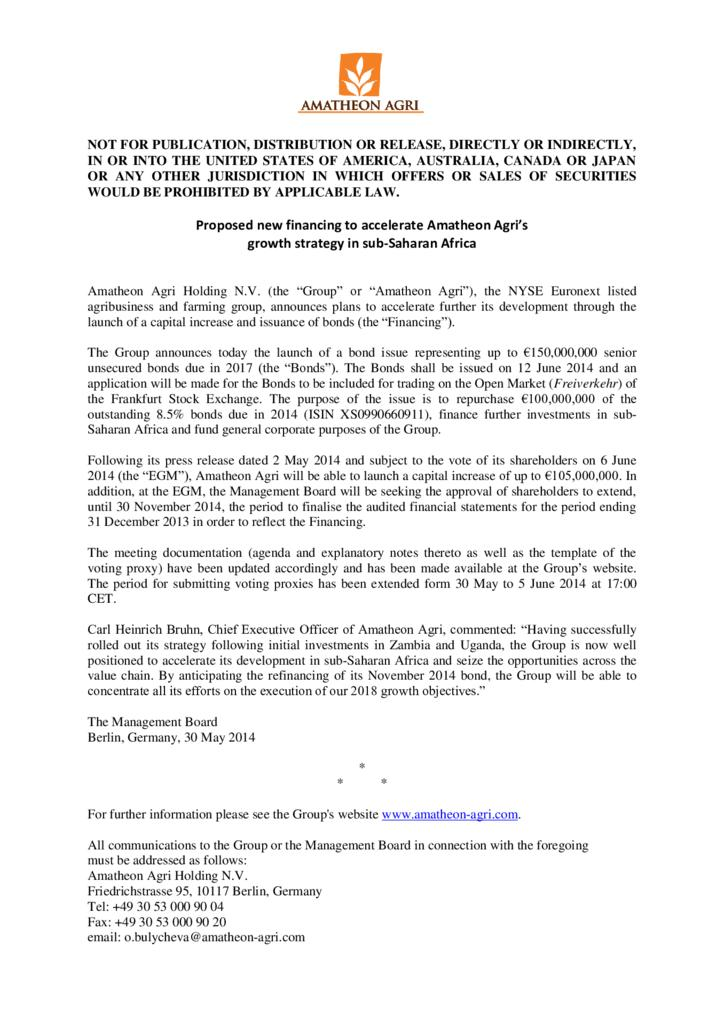 thumbnail of 30.05.2014_Press_Release_-_New_financing_strategy