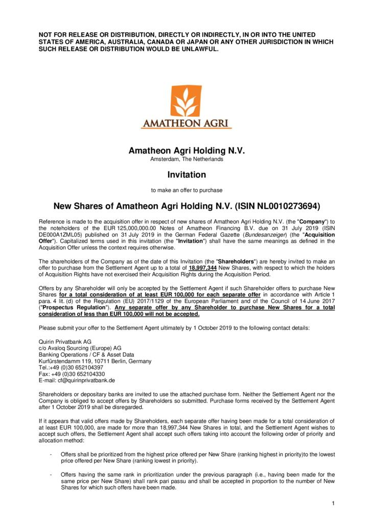 thumbnail of Invitation-to-shareholders-for-Amatheon-Agri-Holding-N.V-shares-1