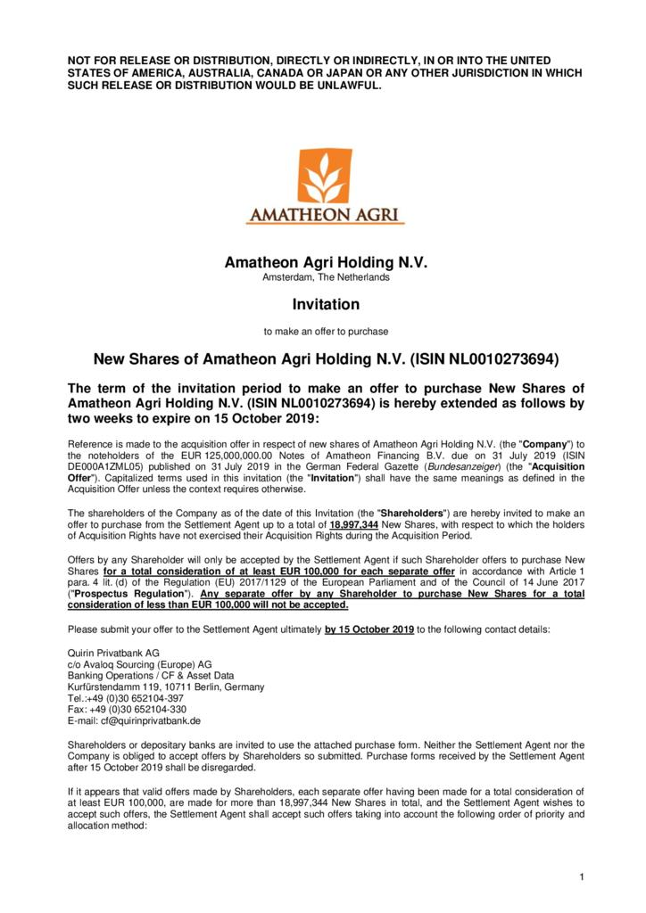 thumbnail of Invitation-to-shareholders-for-Amatheon-Agri-Holding-N.V.-shares-extension-