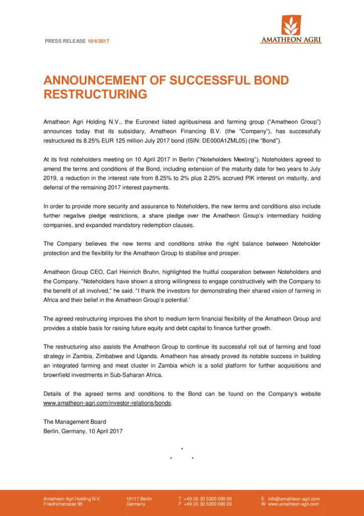 thumbnail of Press-Release-Announcement-of-successful-restructuring-of-bond